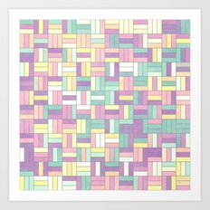 Summer Pastels 2 Art Print