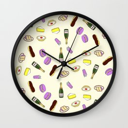 Sweets & Champagne Wall Clock