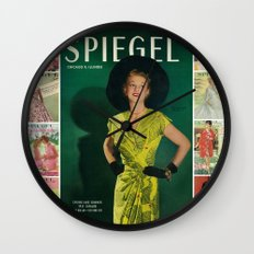 1951 Spring/Summer Catalog Cover Wall Clock