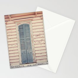 Three Shutters - New Orleans French Quarter Stationery Cards