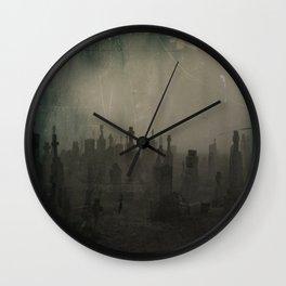 Dark And Dank Fog Wall Clock