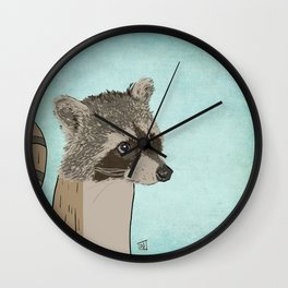 Employee of the Month: Red Wall Clock