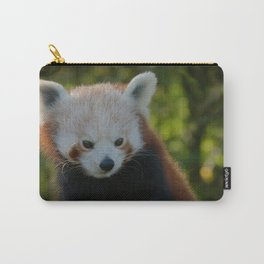 Red Panda Gaze Carry-All Pouch