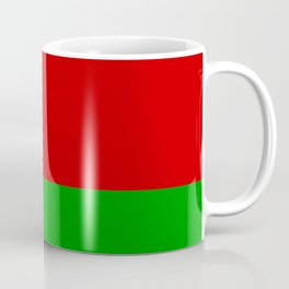 flag of belarus-belarusian,Minsk,Homyel,russia,snow,cold,chess,bear,rus,wheat,europe,easthern europe Coffee Mug