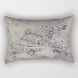 500 Km high Rectangular Pillow