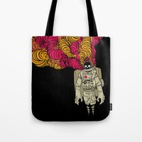 musa Tote Bags featuring cosmorot by musa