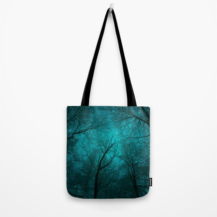 Simply Stare Upward (Dark Winter Sky) Tote Bag