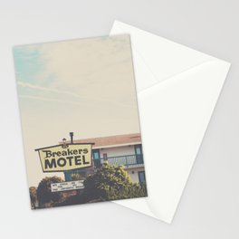 Breakers Motel photograph Stationery Cards