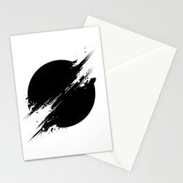 The Sun Is Black Stationery Cards