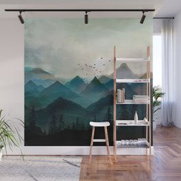 Mountain Sunrise II Wall Mural
