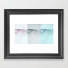 Winter in the U.P. Framed Art Print