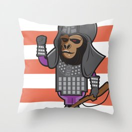 The General Throw Pillow