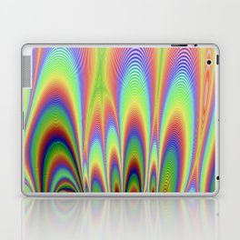 Fractal Rainbows Laptop & iPad Skin