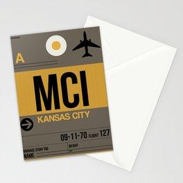 MCI Kansas City Luggage Tag 1 Stationery Cards