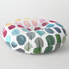 Color Palette Floor Pillow