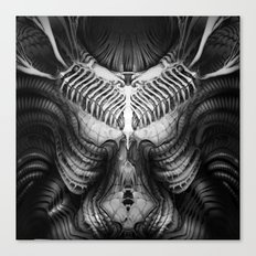 Giger Chest Canvas Print