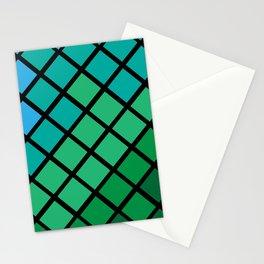 Mermaid Geometric Stationery Cards