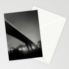 Bridge under fog Stationery Cards