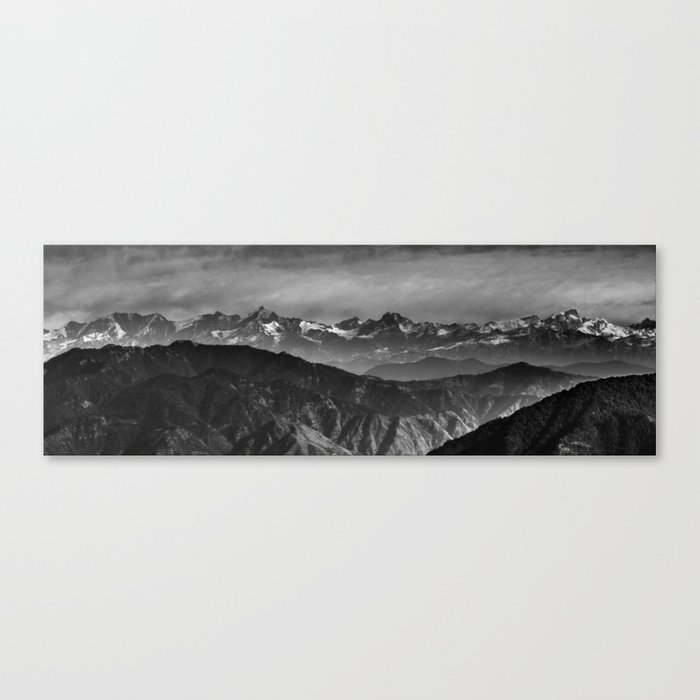 Himalayan Panorama Canvas Print