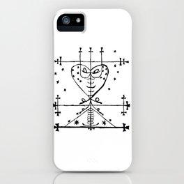 Maman Brigette Voodoo Veve Symbol iPhone Case
