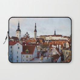 Historic Tallinn, Estonia Laptop Sleeve