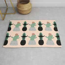 Mr. and Mrs Succulent Rug