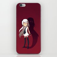shadow iPhone & iPod Skins featuring Shadow by Freeminds