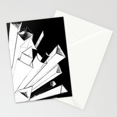 Shooting Shapes Stationery Cards