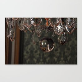 Versailles Chandelier Canvas Print