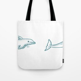Dolphine Love Tote Bag