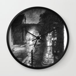 Newport Arch Wall Clock