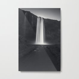 Iceland, Seljalandsfoss waterfall Metal Print