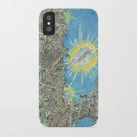 fairies iPhone & iPod Cases featuring Fairies by David Domike