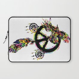 Peace dream cather Laptop Sleeve