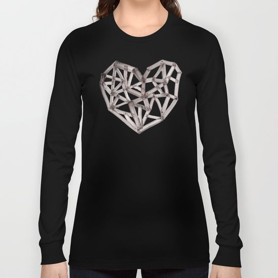 Wooden Heart Long Sleeve T-shirt