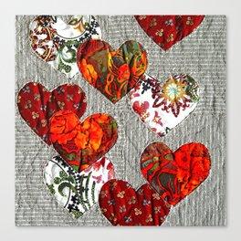 Spread love! Canvas Print