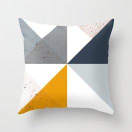 Modern Geometric 18/2 Throw Pillow