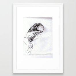 Recursion: No Strange Loop Framed Art Print