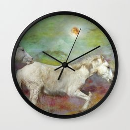 In Another Time Another Place...We Would All be Free Wall Clock