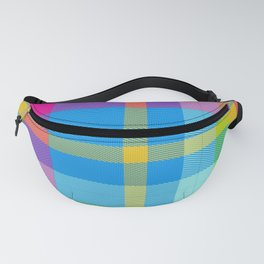 Summer Plaid 3 Fanny Pack