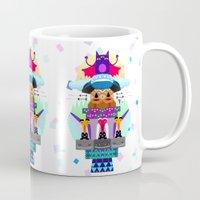 totem Mugs featuring Totem by Anita Molnár Anita