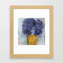 California Lilac Framed Art Print