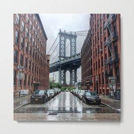 DUMBO, Brooklyn NY Metal Print