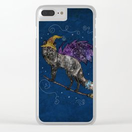 Midnight Vixen Clear iPhone Case