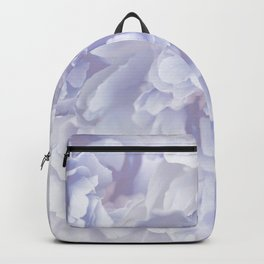 Flower Bouquet In Pastel Blue Color - #society6 #buyart Backpack