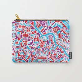 Vienna City Map Poster Carry-All Pouch