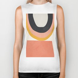 Abstract Art 8 Biker Tank
