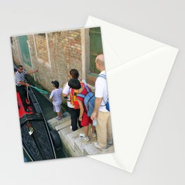 Unknown Faces In Different Places (Pt 13 - Venezia, Italia) Stationery Cards