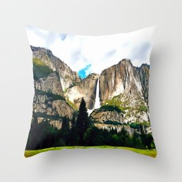 Vernal Mist Throw Pillow