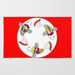 Koi / Japanese fish  Rug